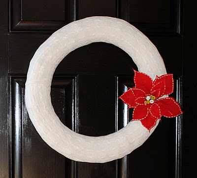 12 - Cable Knit Sweather Wreath