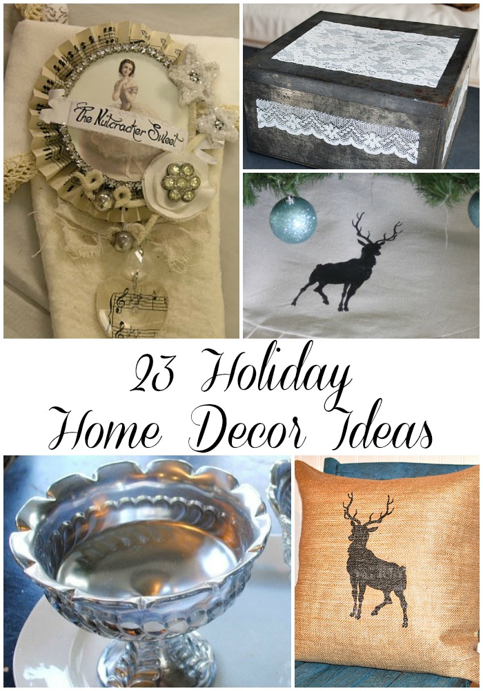 23 Holiday Home Decor Ideas