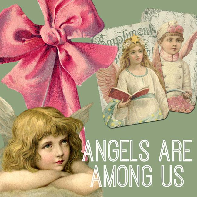 Angels are Among us Digital Kit - Premium Membership