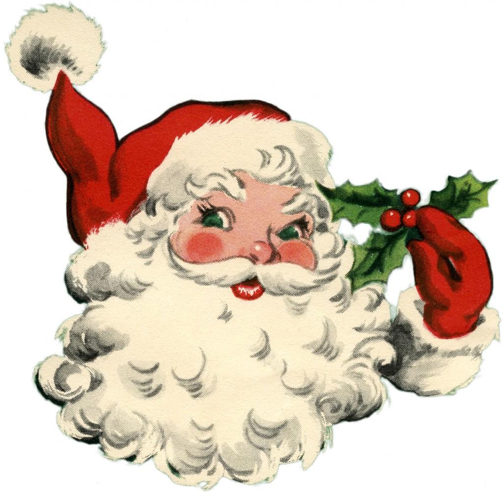 Adorable Santa Image
