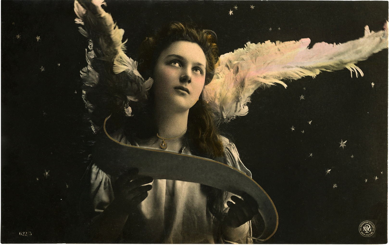 Antique angel photo beauty the graphics fairy
