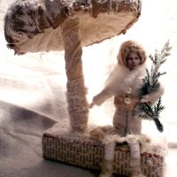 Cotton Batting Ornament DIY