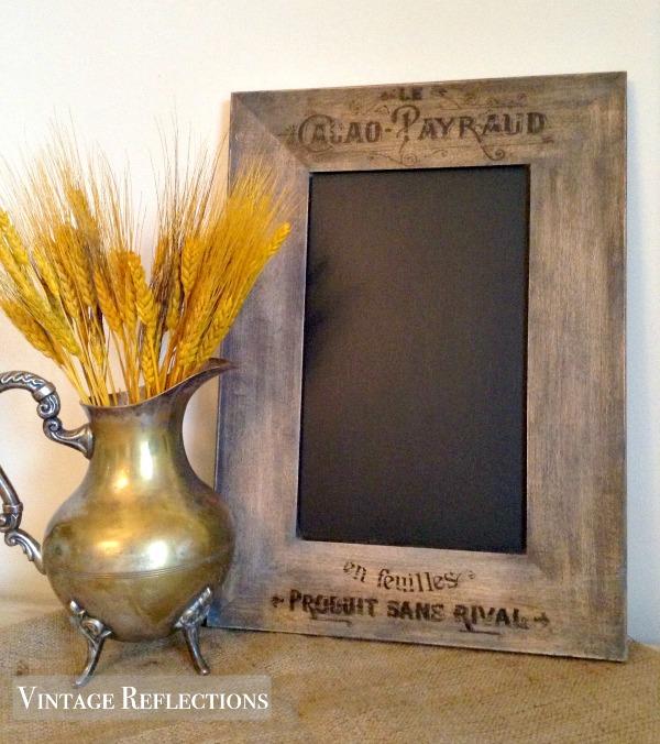 DIY Chalkboard cabinet