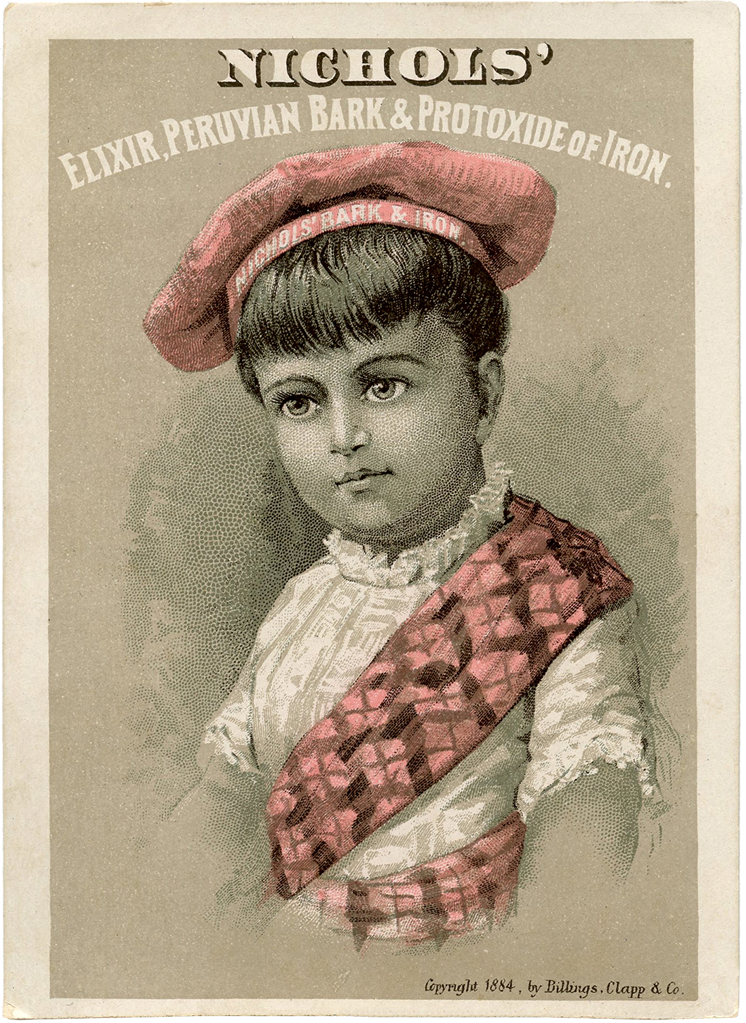 free vintage scottish girl image