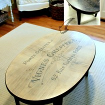 French-Typography-Coffee-Table-Makeover-Before-After-artsychicksrule.com-milkpaint-chalkpaint-french-typography