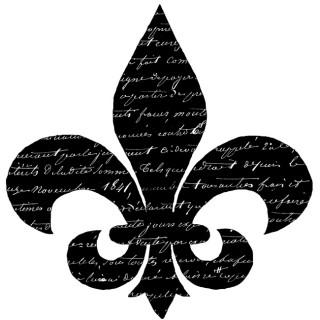 Script Fleur de Lis Transfer!