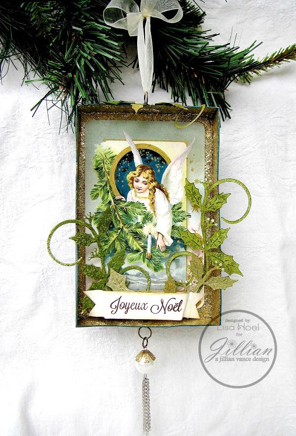 Lisa-Hoel_Holly-Swirls-Angel-Ornament