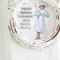 Make a Christmas Angel Ornament