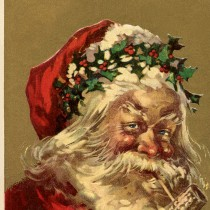 Old World Santa Holly Crown