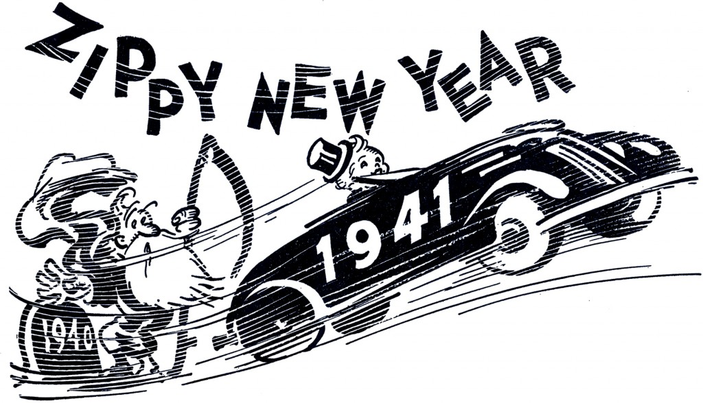 Retro New Year Image