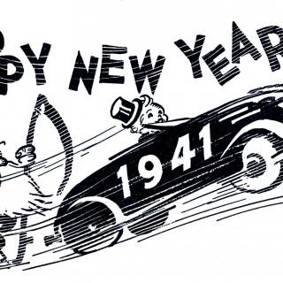 Retro New Year Image!
