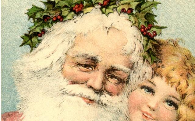 Victorian Santa Postcard – Extra Special!