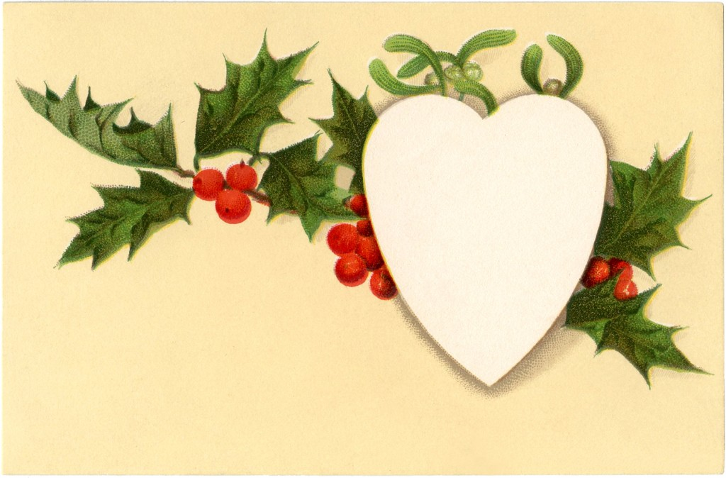 Vintage Holly Tag Image