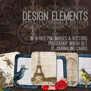 Wonderful Design Elements Bundle! TGF Premium
