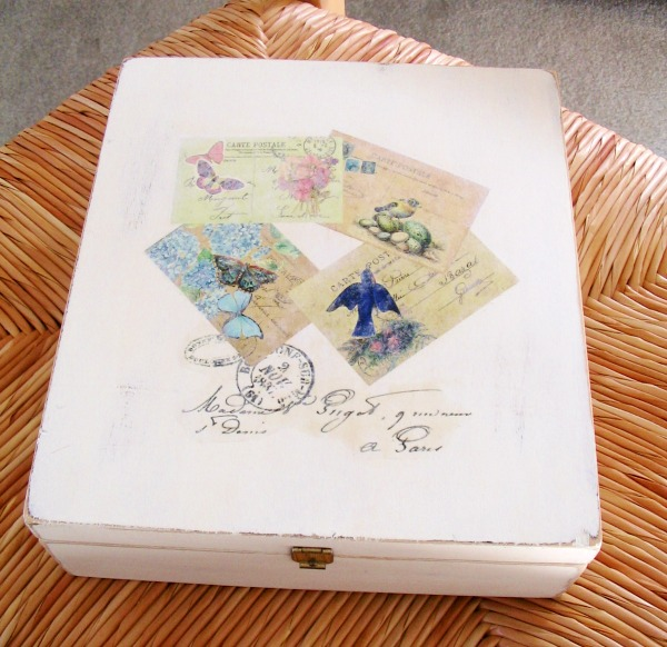 Diy vintage cigar box reader feature the graphics fairy for Cigar boxes for crafts