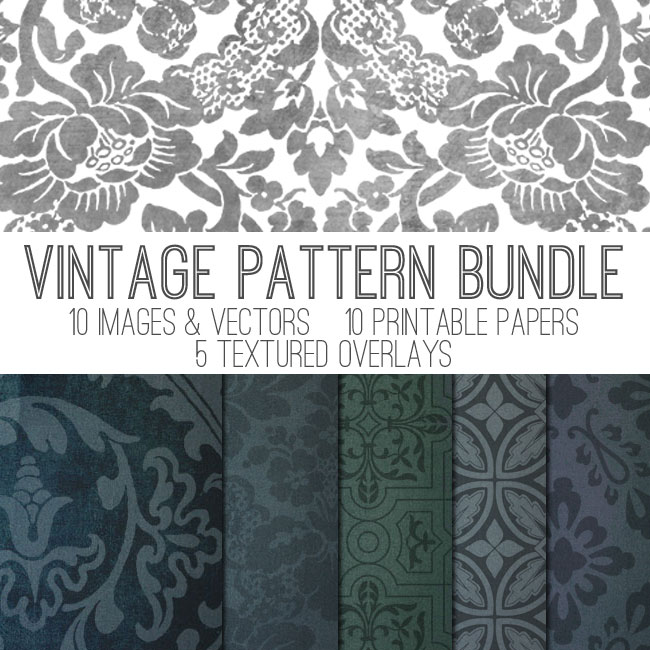 Vintage Pattern Bundle