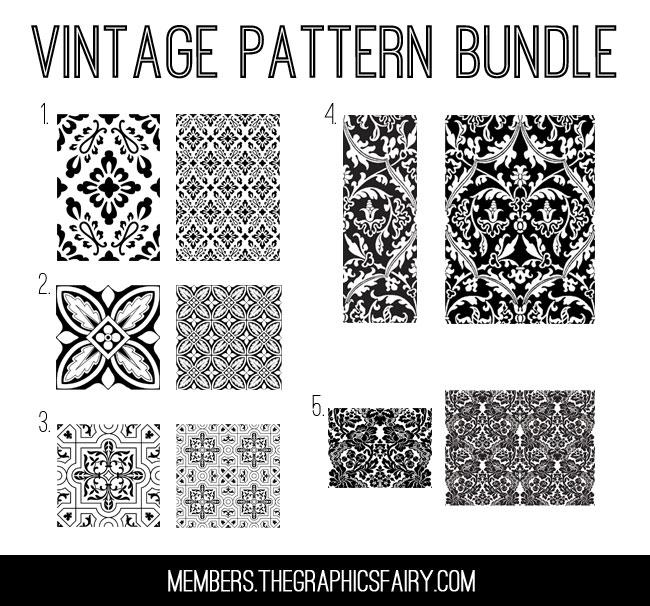 Vintage Pattern Tiles
