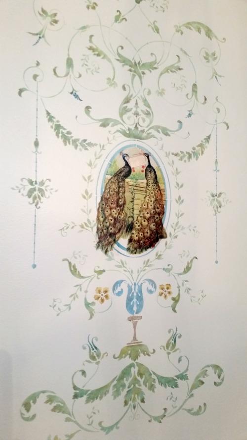 peacockswall