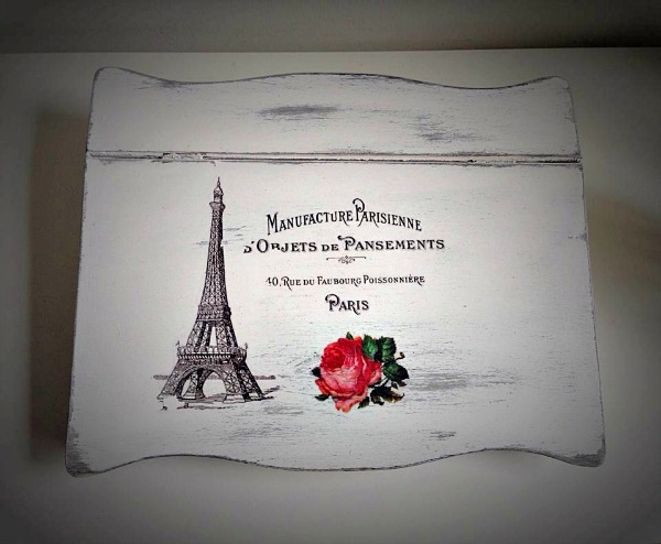 05 - Krista - DIY Eiffel Tower Box