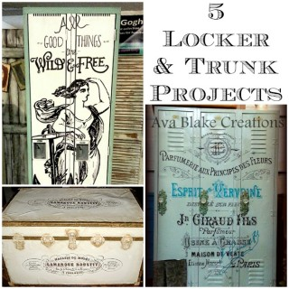 5 Gorgeous Trunk and Locker Projects