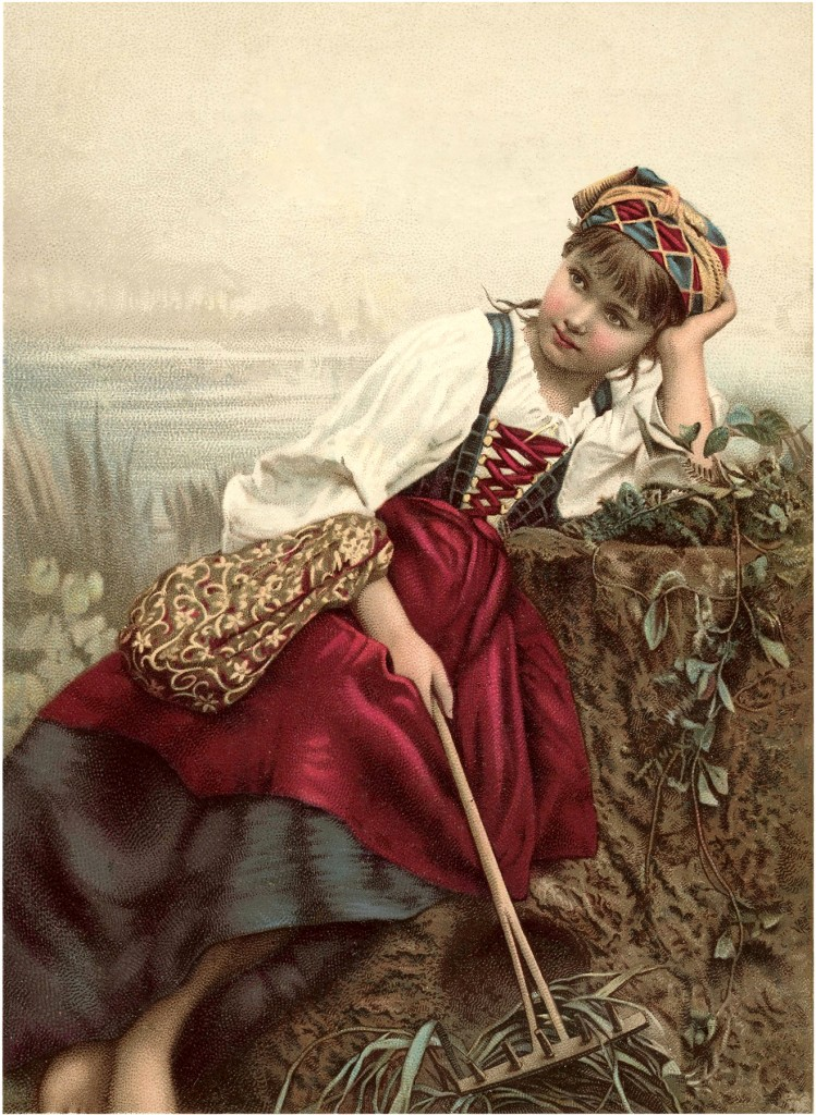 Beautiful Gypsy Image! - The Graphics Fairy