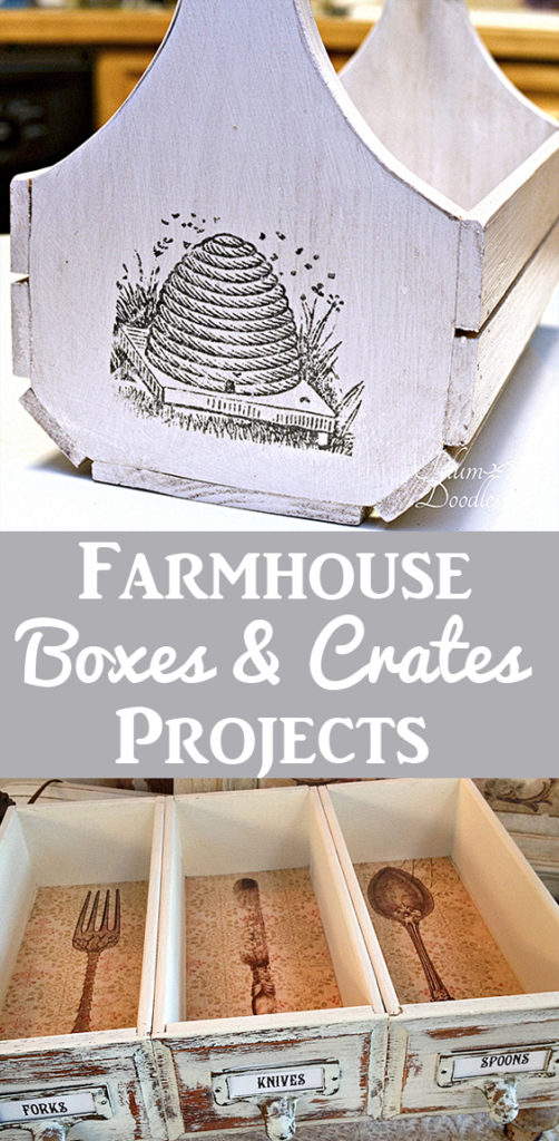 Farmhouse Box and Crate Projects