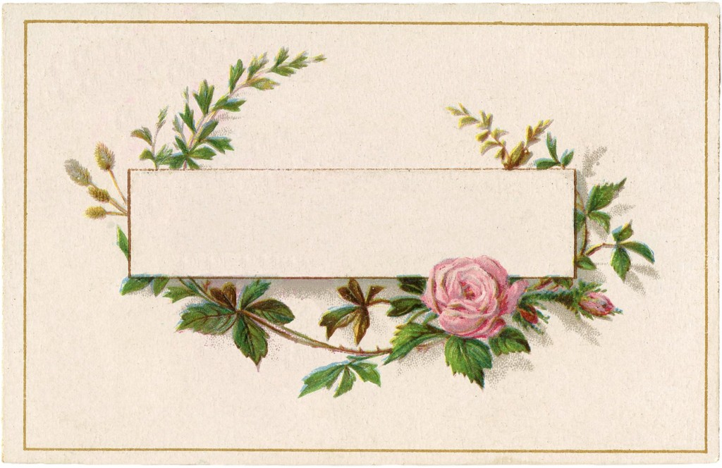 French Roses Label