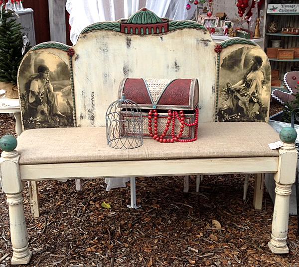 DIY Bohemian Bench Tutorial