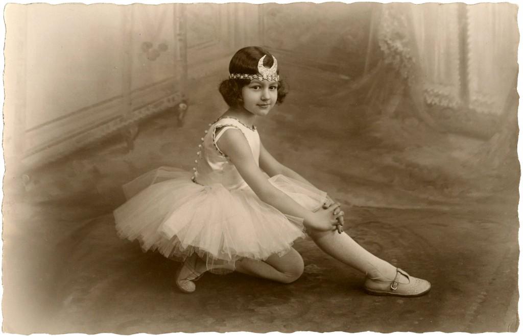 Prettiest Ballerina Girl Photo