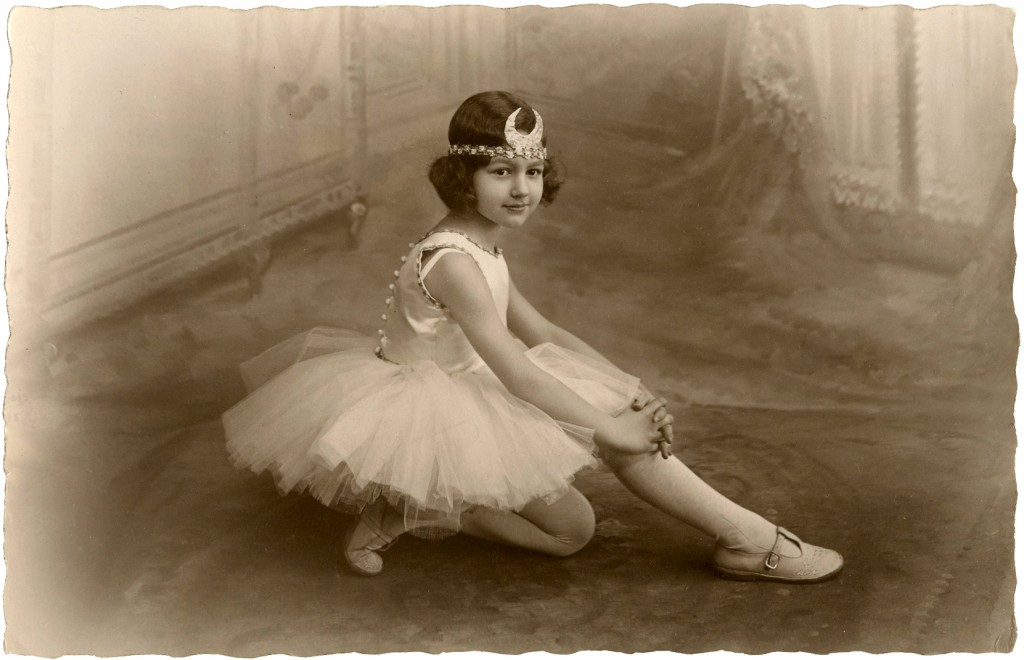 Prettiest Ballerina Girl Photo