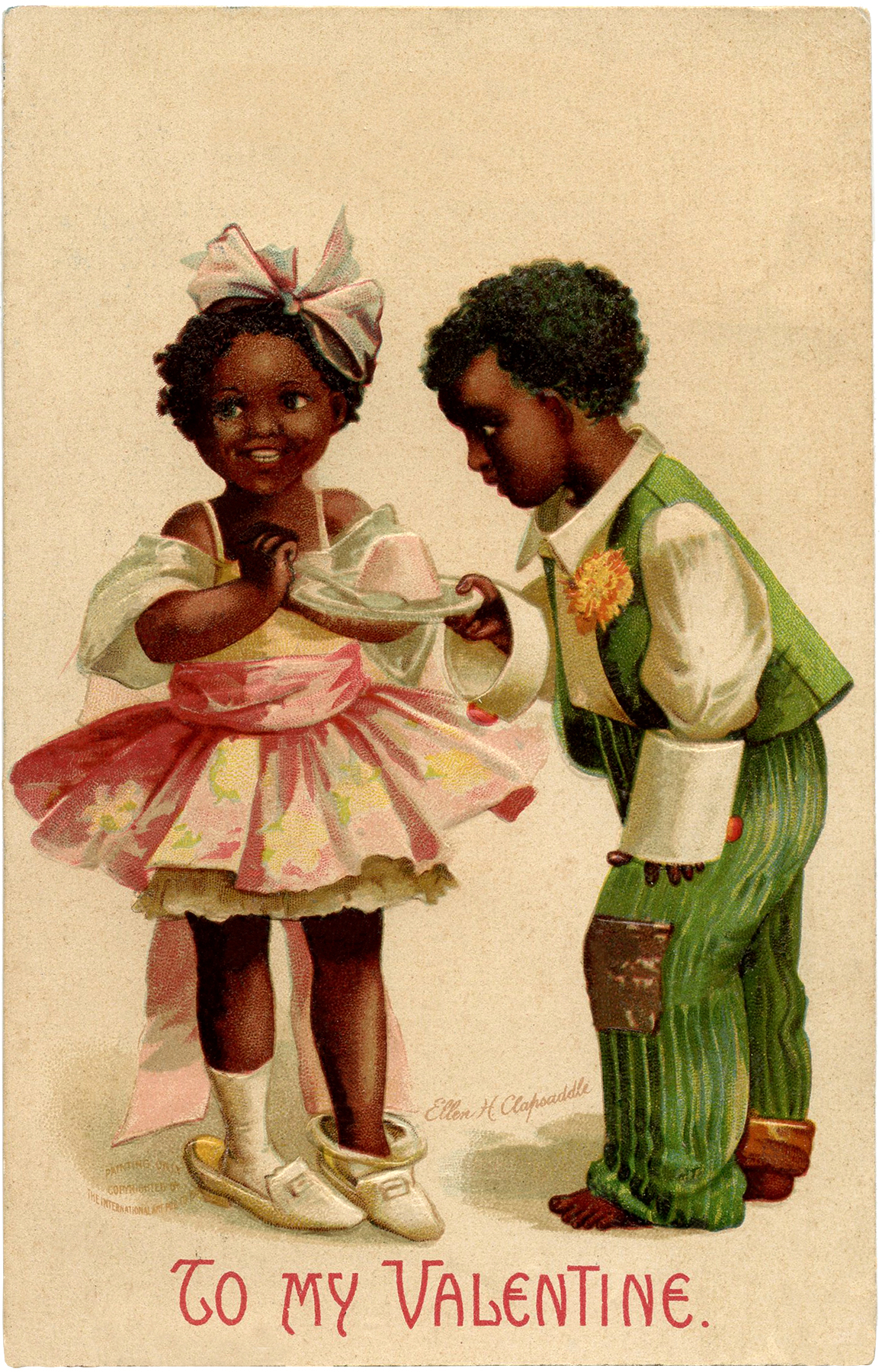 Valentine Children Image
