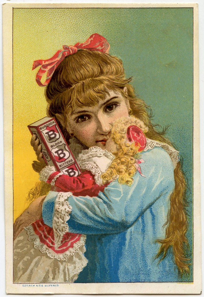 Victorian Girl Doll Image