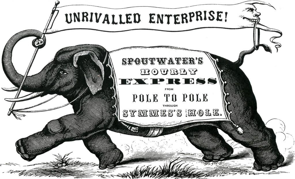 Vintage Elephant Label Image