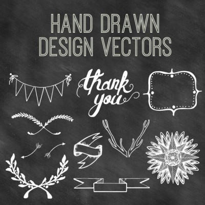 Hand Drawn Design Vectors