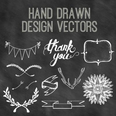 Hand Drawn Design Vectors