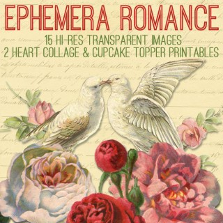 Ephemera Romance Kit – Graphics Fairy Premium!