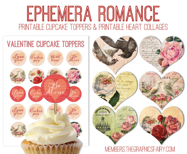 Ephemera Printables