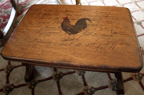 03 - Farmhouse Footstool
