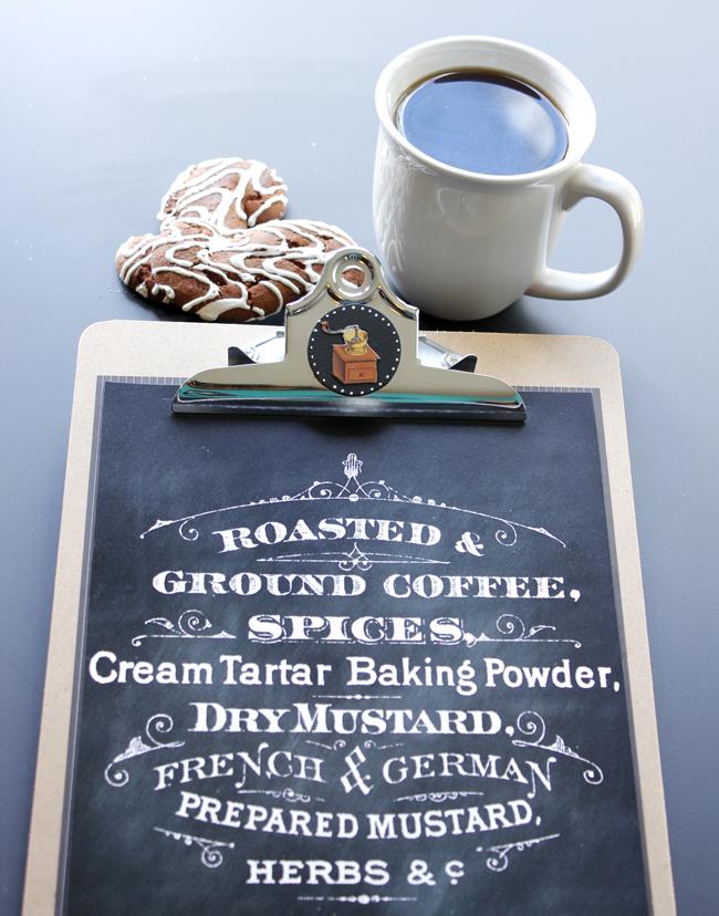 04 - Coffee Art Display