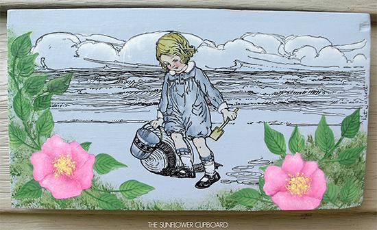 09 - Painted Beach Scene