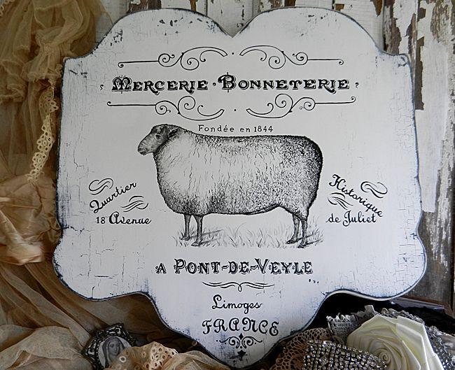 10 - DIY French Farmhouse Sign