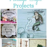 17 DIY Vintage Sign Projects
