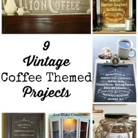 9 Vintage Coffee Themed DIY Projects