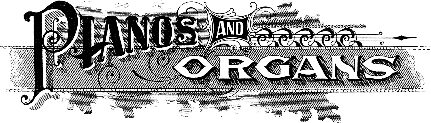 Antique Piano Sign Image! - The Graphics Fairy