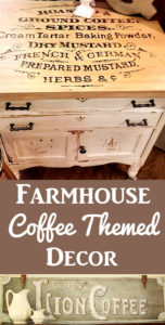 Farmhouse Coffee Themed Decor