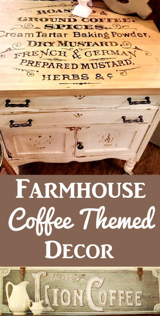 Farmhouse Coffee Themed DIY Projects