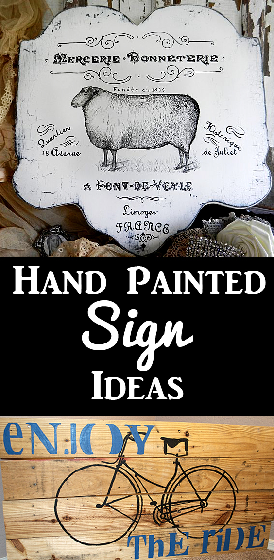 17 Diy Hand Painted Sign Ideas The Graphics Fairy