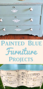 Painted Blue Furniture Projects