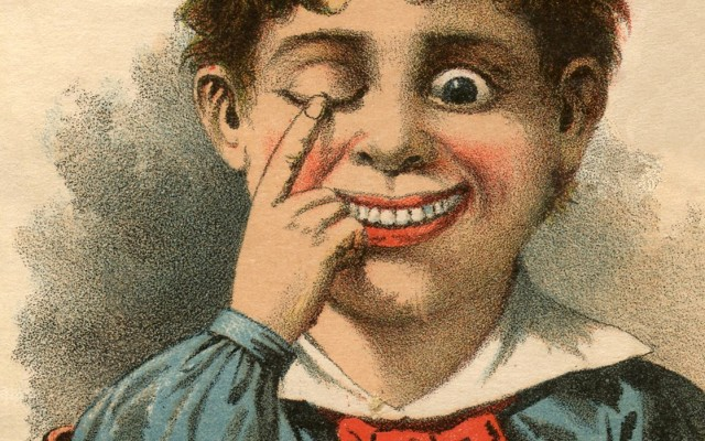 Quirky Vintage Eye Salve Image – Odd!