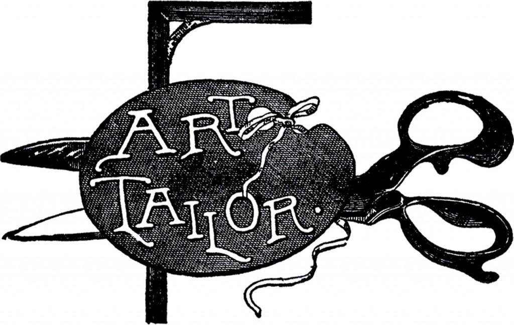 Vintage Tailor Sign Image